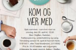 I uge 17 spiser hele Danmark sammen