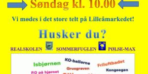 Så er det tid at reservere dagen til HADSTEN-TRÆFFET på Lilleåmarkedet 2017