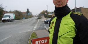 Bilist uden kørekort i Hadsten