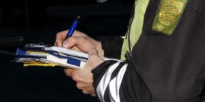 Færdselsuheld med personskade i Hammel