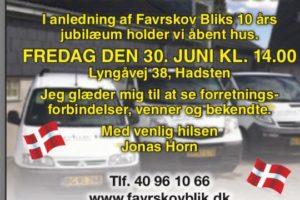 Favrskov Blik - 10 ÅRS JUBILÆUM