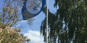Det første Spring Ud i Naturen flag er blevet hejst i Favrskov.