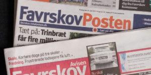 Usikker fremtid for de trykte lokalaviser i Favrskov