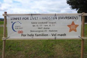 Stafet for LIVET i Favrskov