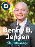 Benny B Jensen, Nye Bogerlig
