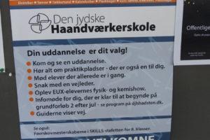Åbent Hus på Den jydske Haandværkerskole i Hadsten