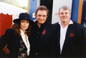 Johnny Cash udstilling på Memphis Mansion i Randers.