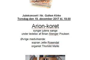 Julekoncert i Nr. Galten Kirke
