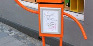 Falske nyheder - bysladder kan lukke butikker