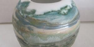 Irene Søgaard udstiller Raku Keramik