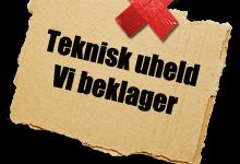 VI BEKLAGER