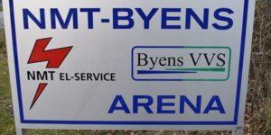 Bold på NMT-BYENS Arena i morgen