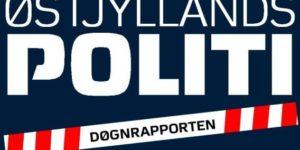 Døgnrapport fra Østjyllands Politi