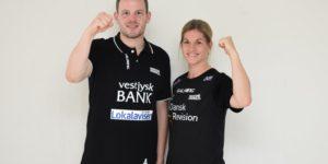Nyt makkerpar på sidelinjen i Hadsten Håndbold