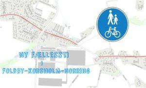 Nu kommer den nye fællessti i Foldby-Norring