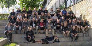 Nye svende fra Den jydske Haandværkerskole i Hadsten