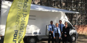 Den mobile politistation i Thorsø
