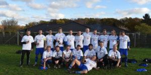HSK Fodbolds førstehold i serie 2 sikrede sig lørdag den 3. november oprykning til serie 1.