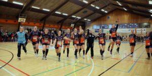Hadsten Håndbolds 1.divisionspiger fik STORsejr i Roskilde