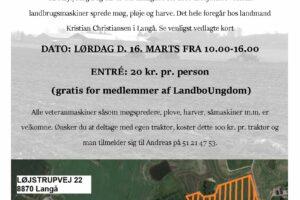 FavrskovEgnens LandboUngdom inviterer alle interesserede til en dag i forårets tegn.