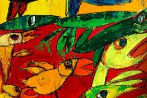 Ny kunstudstilling i Voldum-Hallen - kan ses de næste 2 måneder