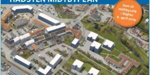 BREAKING NEWS : 11.03.2019: Forslag til Hadsten midtbyplan i offentlig høring