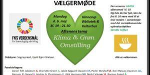 annonce : Vælgermøde: KLIMA & GRØN OMSTILLING.