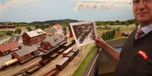 Hadsten Bio og MENY i Thorsø donerer nye togsæt til Modelbane Europa