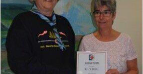 Sct. Georgs Gildet donerer 5.000 kr til KILDEN i Hinnerup