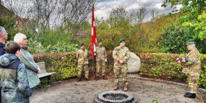 Hjemmeværnskompagni Favrskov mindedes befrielsen af Danmark.