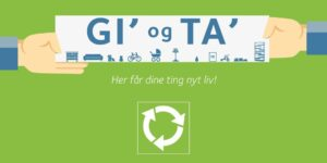 Gi' og ta' på Hadsten genbrugsplads