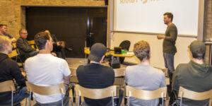 DjH-elever på iværksætterkursus