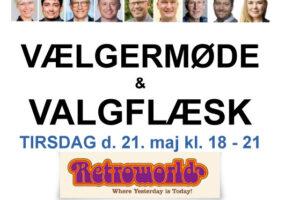 NYHED: GRATIS VÆLGERMØDE & VALGFLÆSK