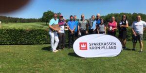 Hadsten Golf Mesterskaber 2019 blev afviklet på fornemmeste vis på Hammel Golf Klubs smukke baner
