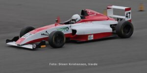 Mads Hoe Motorsport testede på Ring Djursland