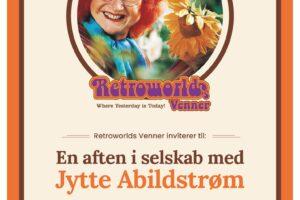En aften i selskab med Jytte Abildstrøm.