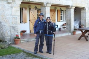 Levende lørdag: Seniorer på vandretur
