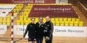 Flot håndboldhistorie - familien Johansen på banen
