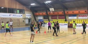 Håndboldfitness for kvinder i Vestjysk BANK ARENA i Hadsten