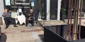 2 ældre herrer, der ved noget om Søndergade i Hadsten