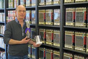 TE er sundt - udtaler Peter Aschelund fra Skjold Burne i Søndergade i Hadsten