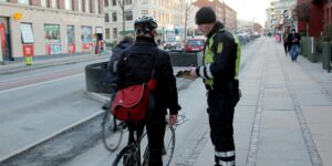 Politiet har fokus på cyklister og knallertkørere