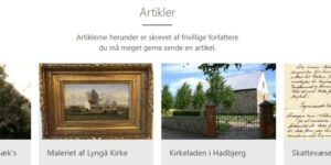 Hadsten Lokalarkiv har fået ny hjemmeside
