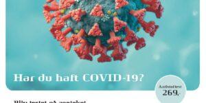 Hadsten og Hinnerup Apotek kan teste, om du har haft COVID-19