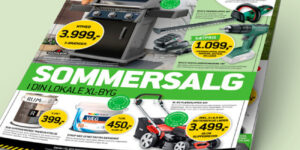 Annonce : Sommersalg i XL-BYG med alt til Grill og Terrasse