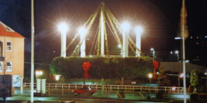 Verdens største adventskrans i Hadsten
