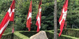 Flagdag markeret med tale og foredrag