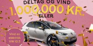 Vind 1.000.000 kr. eller en helt ny VW ID.3