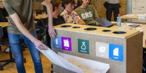 EUX-elever på DjH har genbrugsplads og ressourcer på skemaet