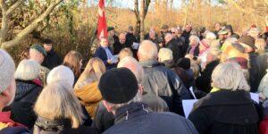 Årsdagen for jernbanesabotagen i Langå markeres d. 18. november